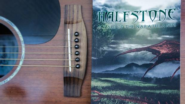 Halfstone, influenced by The Lord of the Rings and the Hobbit, but inspired by his childhood in the South Island, was ...