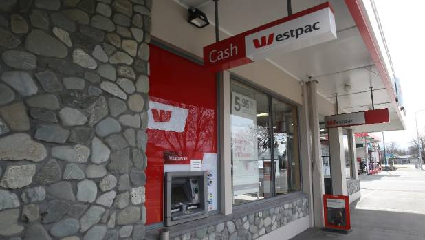 If the Westpac branch in Fairlie closes, the town will be left without a bank.