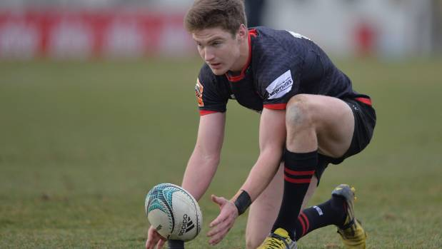 Ready to kick on: Jordie Barrett is primed to follow his brothers into national provincial rugby when Canterbury launch ...