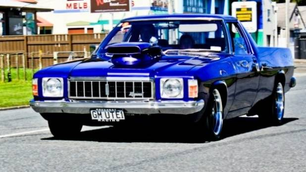 Matt Kingi's 1975 Holden HJ ute, which will appear in Western Bays Street Rodders Hot Rod Show.