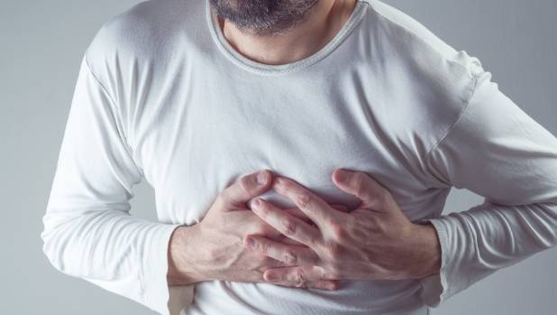 the common problem that can trigger a heart attack - study | stuff, Skeleton