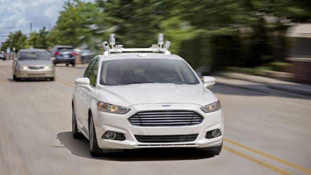 Ford Working On Driverless Police Cars To Patrol The Streets