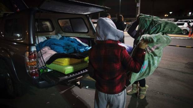 The Park Up For Homes events have been organised to show solidarity with those families forced to sleep in their cars or ...