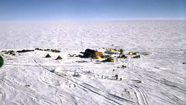 There's a lot of open space to ride at the South Pole.