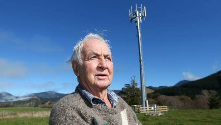 Rural Tv Pioneer Owen Young Pushes For Improved Cellphone Coverage In Rai Valley Marlborough Stuff Co Nz
