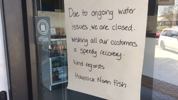The gastro outbreak made more than 5000 people ill and caused numerous Havelock North businesses to close for days.
