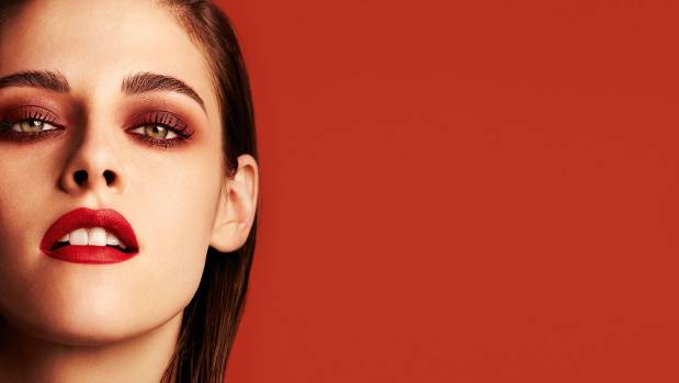 Kristen Stewart in a beauty campaign for Chanel.