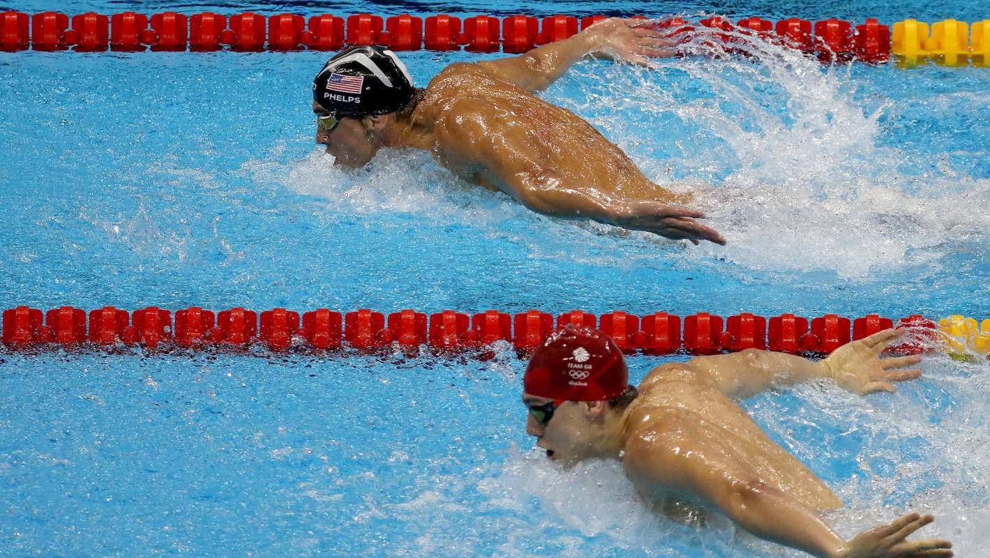 Rio olympics 2016 olympic pool gave some swimmers unfair - University of auckland swimming pool ...