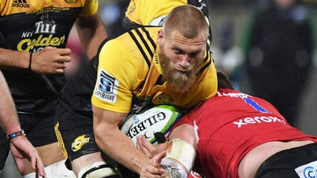 An injury picked up in the Hurricanes' Super Rugby final win over the Lions will keep Brad Shields on the sidelines for ...