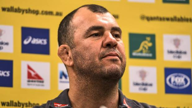 Time for the Wallabies to back up the words of coach Michael Cheika. Photo: GETTY IMAGES.