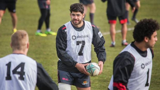 Canterbury's new No 7 Billy Harmon is ready for the step up to provincial rugby in Saturday's clash with Auckland at ...
