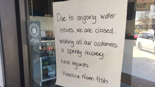 Hastings ratepayers are paying dearly for the gastro outbreak that hit Havelock North last August.