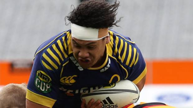 Prop Aki Seiuli has been named on the Otago bench for the game against Southland in Invercargill on Sunday.