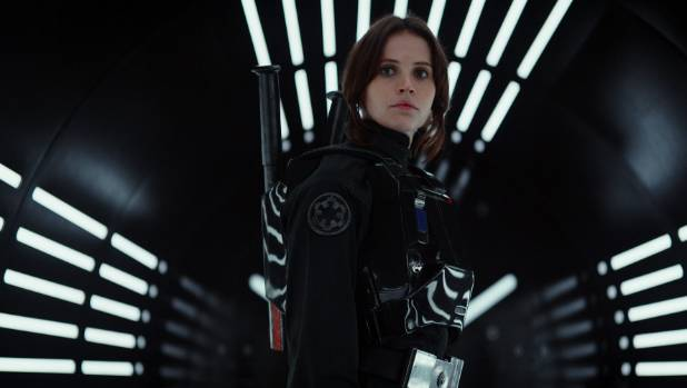 Jyn Erso (Felicity Jones), an unlikely hero?
