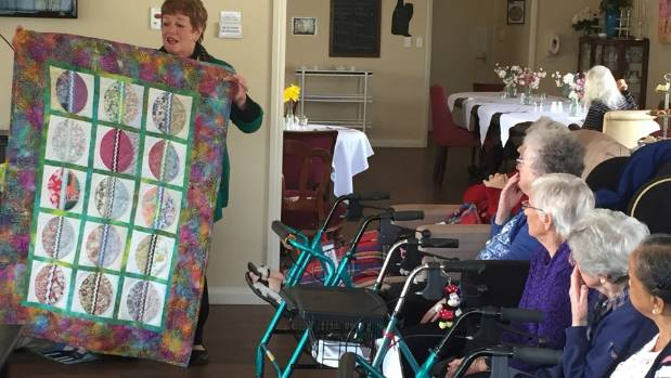 Quilters hand on months of handmade work to elderly | Stuff.co.nz : how quilts are made - Adamdwight.com