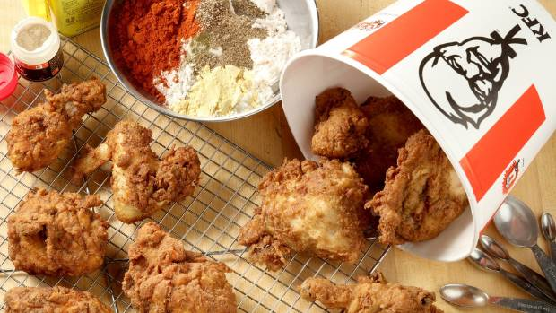 Reporters Didnt Taste Much Of A Difference Between Kentucky Fried Chicken Right