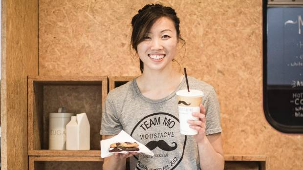 Chief cookie officer/owner of the Moustache Milk & Cookie Bar, Deanna Yang. Her blog post challenges the racism she ...