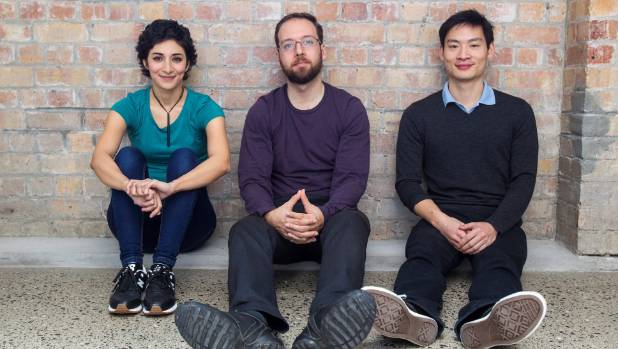 Sarvnaz Taherian, left, Dmitry Selitskiy and James Pau started working on their product, Nous, five years ago when they ...