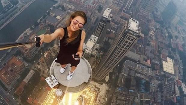 Angela Nikolau is on top of the selfie world.