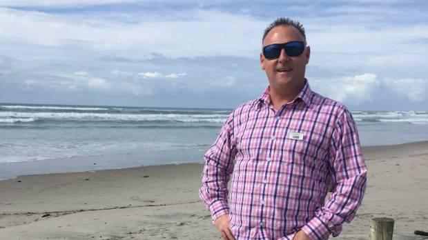 Businessman Gary Alway swapped Auckland for Waihi Beach near Tauranga.