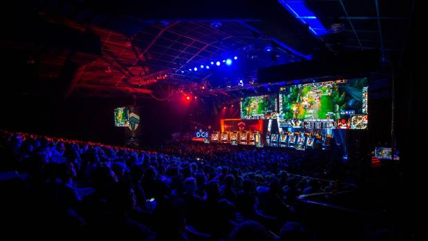 Thousands of spectators packed Sydney's Luna Park for the Oceanic Pro League Finals in 2015.