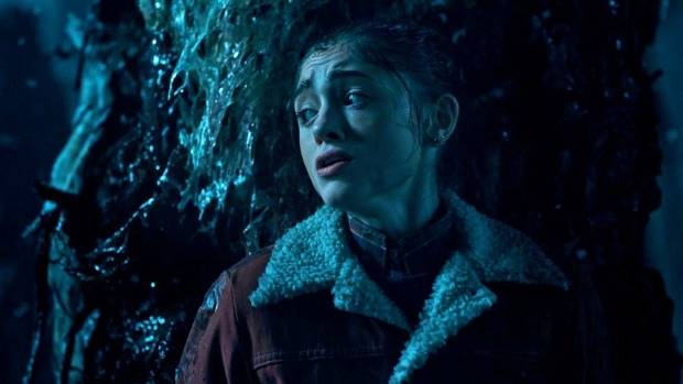 """Natalia Dyer plays Nancy, a modern take on the classic 80s trope of uptight teen """"good girl"""" in Stranger Things."""