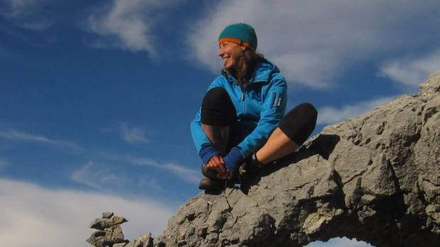 Pavlina Pizova was rescued after being stranded in a Fiordland hut for about a month.