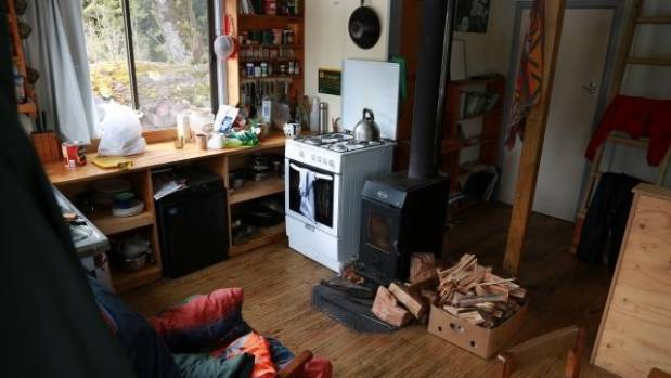 Police have released this image of the Mackenzie warden's hut, where Pavlina Pizova sheltered after the loss of her ...