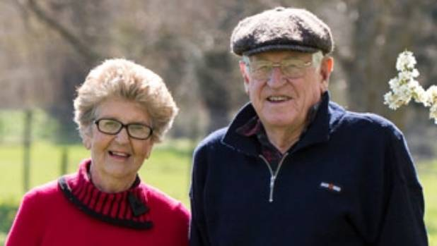 Railene and Barrie Mabin have been selling daffodils in aid of Plunket for some four decades.