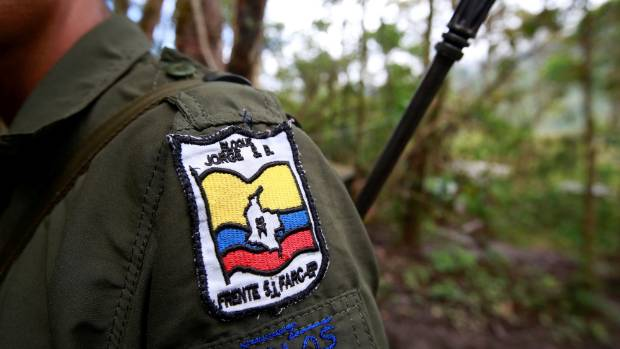 Carlos, a member of the 51st Front of the Revolutionary Armed Forces of Colombia (FARC), is seen at a camp in Cordillera ...