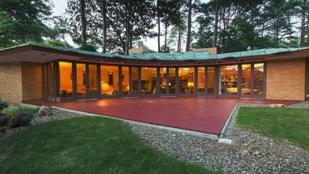 Architect Andrew Lloyd Wright: Mid-century Treasure: One Of Frank Lloyd Wright's Final