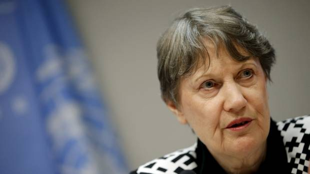 "Former Labour Prime Minister Helen Clark says parties on the left must ""command the centre ground"" to win elections."