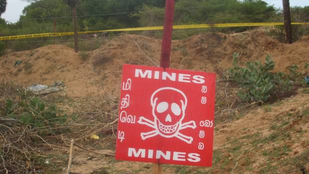 "Companies that make ""anti-personnel"" mines are among those on the NZ Super Fund's exclusion list."