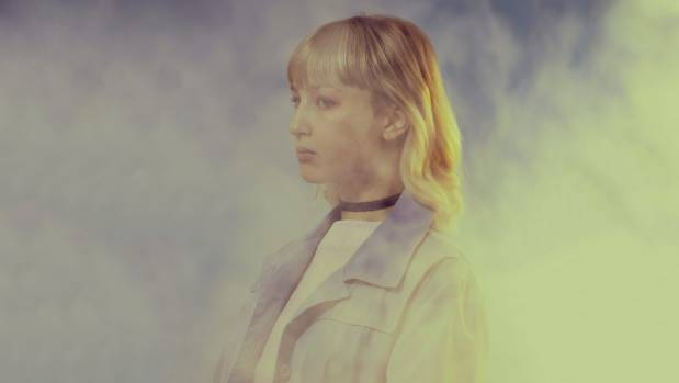 Madison Eve writes and performs electronic music as Peach Milk.