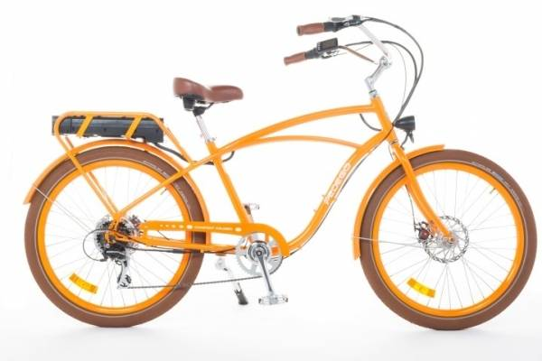 The Pedego Classic Beach Cruiser e-bike. RRP: $3799. For Mercury customers: $3549.