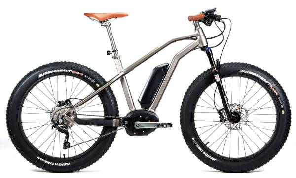 The Moustache StarckBike M.A.S.S Sand e-bike. RRP: $7750.