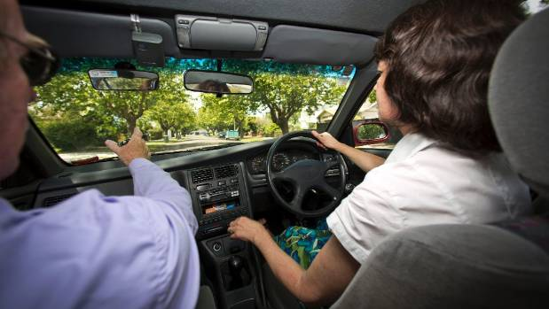 A driving test in Manawatu. An analysis of pass rates from all 61 testing stations New Zealand-wide shows more people ...