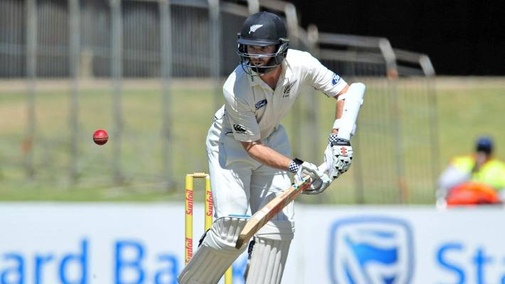 Kane Williamson bats during the test against South Africa at Centurion  Park f67dceadd
