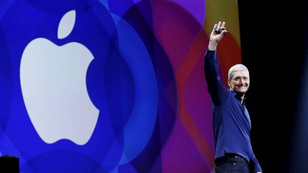 Apple chief executive Tim Cook said the company would appeal the decision that would see Apple paying billions of euro ...