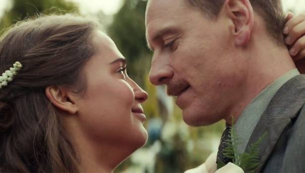 Michael Fassbender And Alicia Vikander In The Light Between Oceans. Images