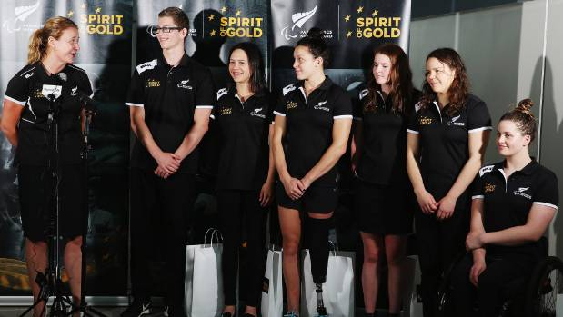 New Zealand's para-swimmers were unveiled in Auckland in May.