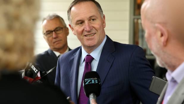 New Zealand Prime Minister John Key.