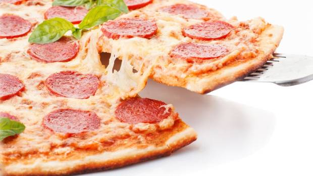 Pepperoni pizza - so good hot, and even better cold.