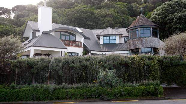 The $1.8 million home Love and Skiffington once shared at Moana Rd, Plimmerton, is now tenanted.