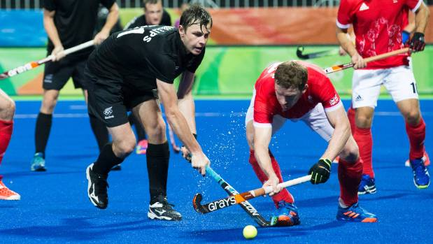 Hayden Phillips, left, here playing at the Rio Olympics against Great Britain last month, will front for Central in the ...