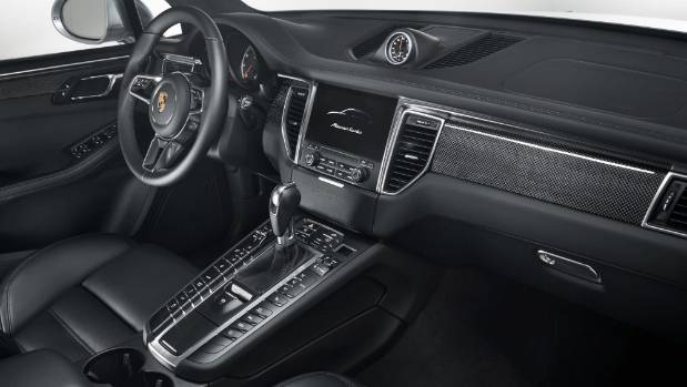 Inside The 2017 Porsche Macan Turbo With Performance Package