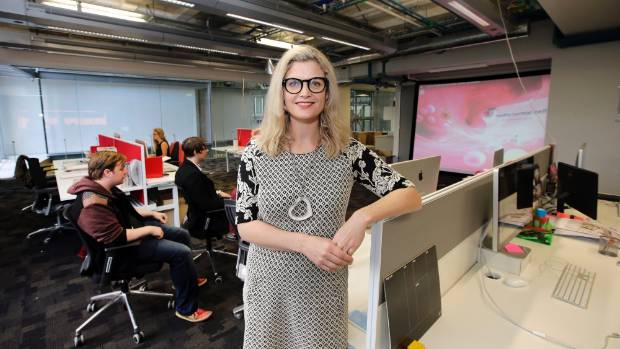 ProjectR  director Jessica Manins said the new national virtual and augmented reality centre will boost Wellington's ...