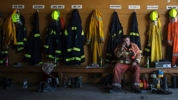 """""""After a long day fighting fires I went back to the volunteer station at Pine acres. Sometimes the picture is actually ..."""
