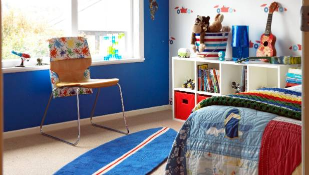 If kids can access storage they're much more likely to put things away.