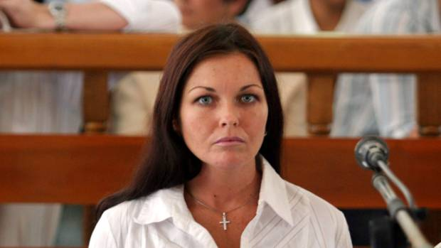 Schapelle Corby attends her trial in a Denpasar court in 2005.